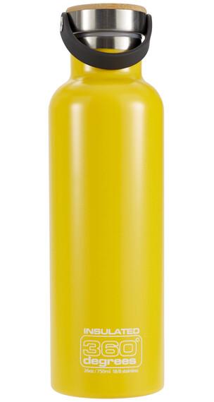 360° degrees Vacuum Insulated - Recipientes para bebidas - 750ml amarillo